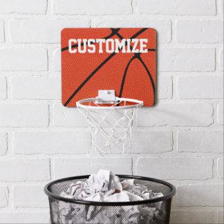 Custom Basketball Player Name Basketball Hoop