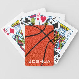 Custom Basketball Skin Playing Cards