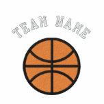 Custom Basketball Team Embroidered Hoodie