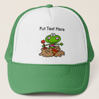 Custom Beach Fun Frog Trucker Hat