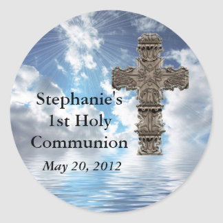 Custom Beautiful 1st Holy Communion Stickers