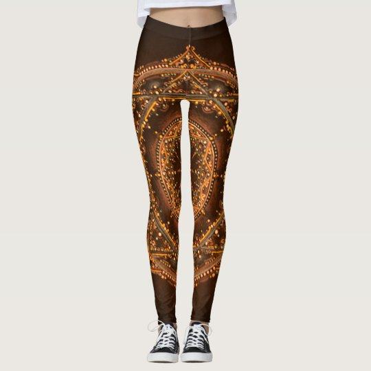 custom beautiful mandala leggings