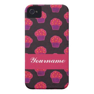 Custom Berry Cupcake iPhone 4 Case-Mate Case