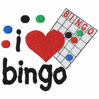 Custom Bingo Embroidered Shirt