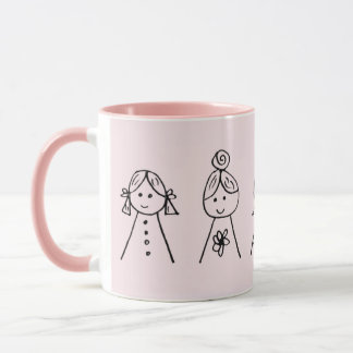 Custom Black 11 oz Ringer Sisters 777 Mug ZAZZ_IT