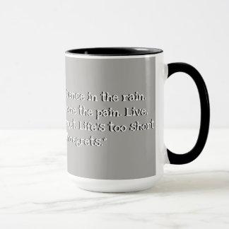 Custom Black 15 oz Ringer Grey Mug 2018 By ZAZZ_IT