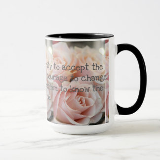 Custom Black 15 oz Ringer Roses Mug ZAZZ_IT