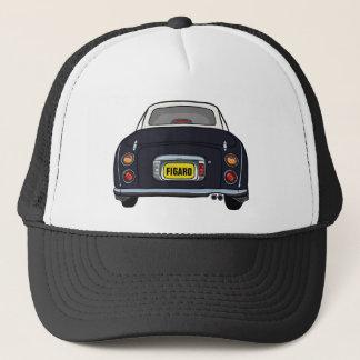 Custom Black Nissan Figaro Trucker Cap Trucker Hat