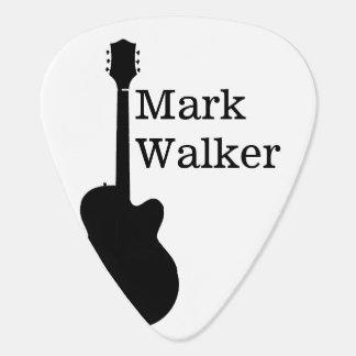 custom black&white guitar picks for the guitarist pick