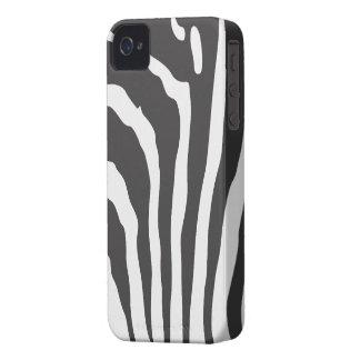 Custom Blackberry Case Zebra Stripe Print Pattern