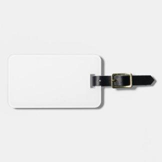Custom Blank Luggage Tag