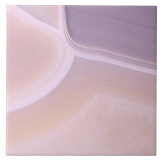 Custom Blank Purple Pink Agate Crystal Patterns Tile
