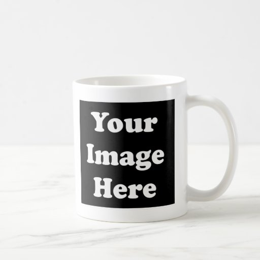 Custom Blank Template Coffee Mug