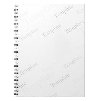 Custom Blank Template Note Books