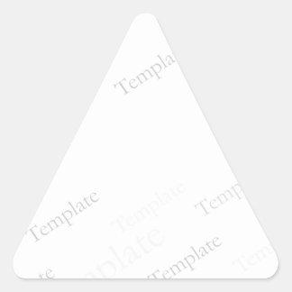 Custom Blank Template Triangle Stickers