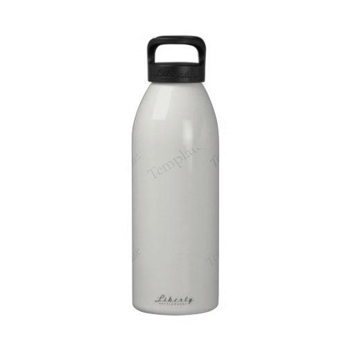 Custom Blank Template Reusable Water Bottle