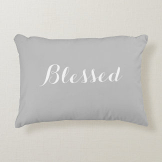 "Custom Blessed Accent Pillow 16"" x 12"""