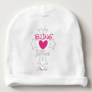 Custom Bling Life Baby Cotton Beanie Baby Beanie