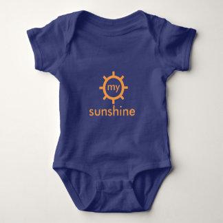 Custom Blue Baby Jersey Bodysuit