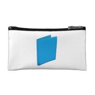 Custom Blue Binder Folder Mugs Hats Buttons Pins Cosmetic Bag
