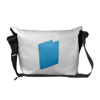 Custom Blue Binder Folder Mugs Hats Buttons Pins Courier Bag