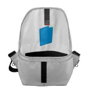 Custom Blue Binder Folder Mugs Hats Buttons Pins Messenger Bag