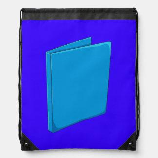 Custom Blue Binder Folder Mugs Hats Buttons Pins Backpacks