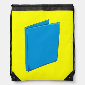 Custom Blue Binder Folder Mugs Hats Buttons Pins Drawstring Backpacks