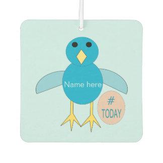 Custom Blue Birthday Boy Chick Air Freshener