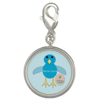Custom Blue Birthday Boy Chick Charm