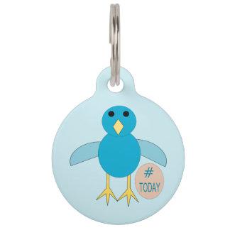 Custom Blue Birthday Boy Chick Dog Tag