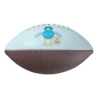 Custom Blue Birthday Boy Chick Football