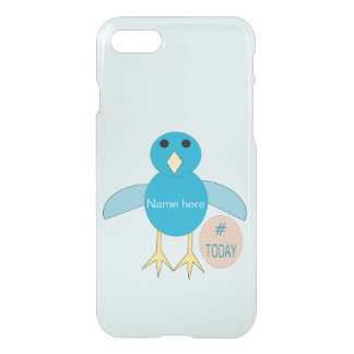 Custom Blue Birthday Boy Chick iPhone Case