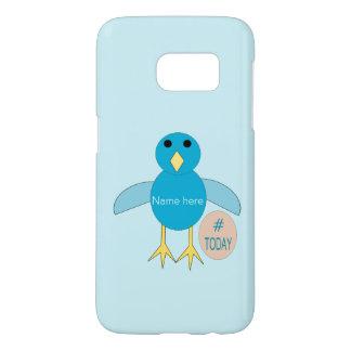 Custom Blue Birthday Boy Chick Samsung Case
