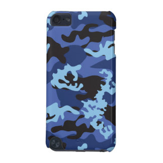Custom Blue Camo iPod Touch Case