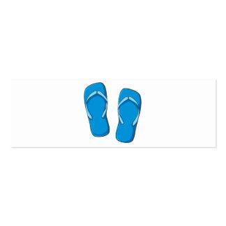 Custom Blue Flip Flops Sandals Mugs Bags Buttons Business Cards
