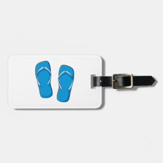 Custom Blue Flip Flops Sandals Mugs Bags Buttons Luggage Tag
