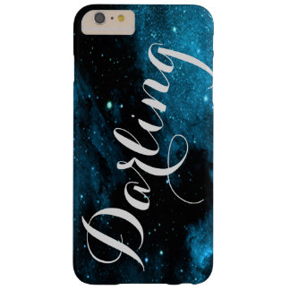 Custom Blue Galaxy Print Phone Case