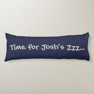 Custom Blue Time for Zzz... Body Pillow