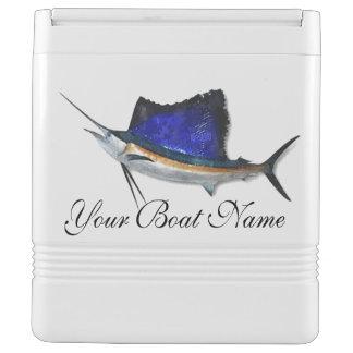 Custom Boat Name Igloo 24 can cooler Sailfish/Mahi