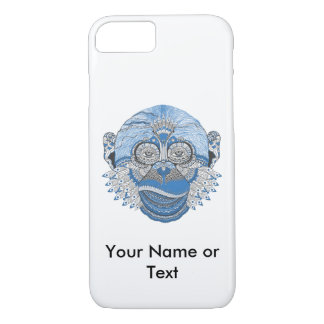 Custom Bohemian Monkey Iphone 7 Case