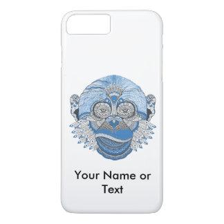 Custom Bohemian Monkey Iphone 7 Plus Case
