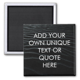 Custom Bold 'Add your own text' Chilled Beach Look Magnet