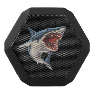 Custom Boombot REX, Black Shark Black Bluetooth Speaker