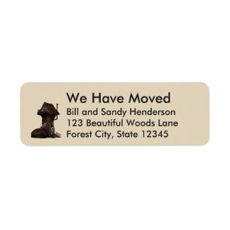 Custom Boot Home We Have Moved Moving Announcement