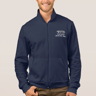 Custom bowling team apparel | Customizable name Jacket