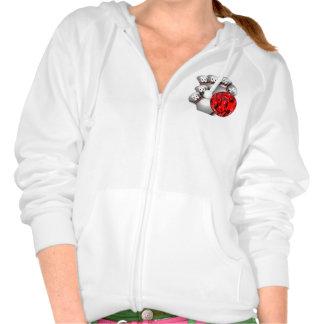Custom Bowling Zip hoodies