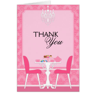 Custom Bridal Shower Thank You Cards