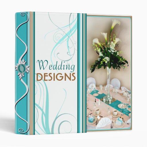 Custom Bridal Wedding / Floral Planner Binder