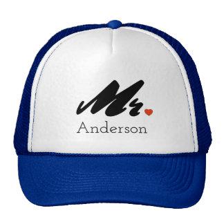 Custom Bride Mr. Trucker Hat Cap